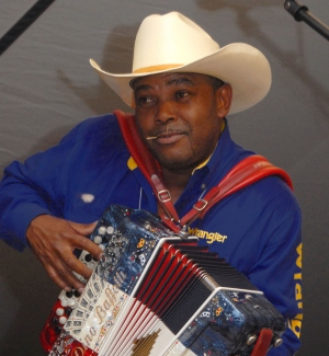 Jeffery Broussard of the Creole Cowboys